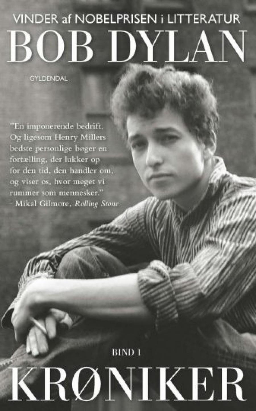 Forside af bogen Krøniker skrevet af Bob Dylan