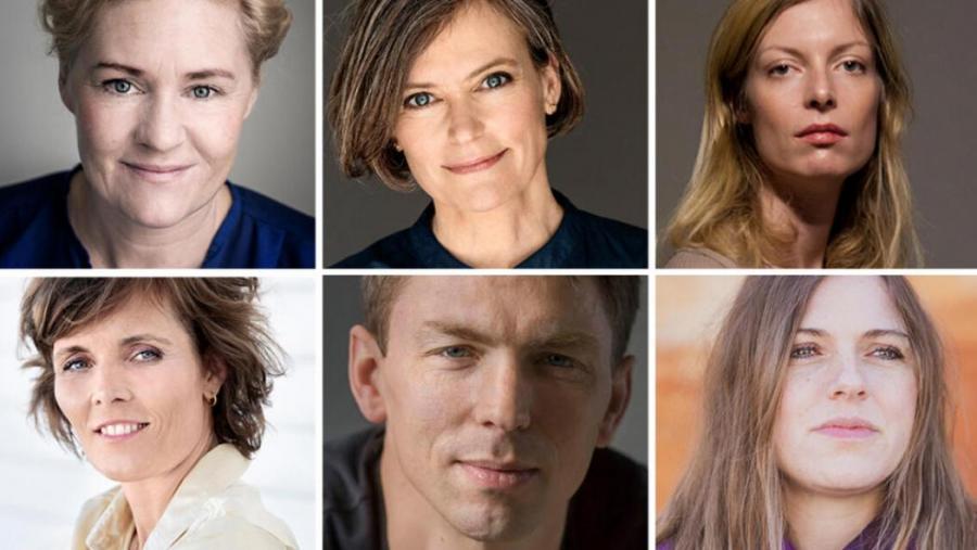 Fotos af de seks nominerede til DR Romanprisen 2021