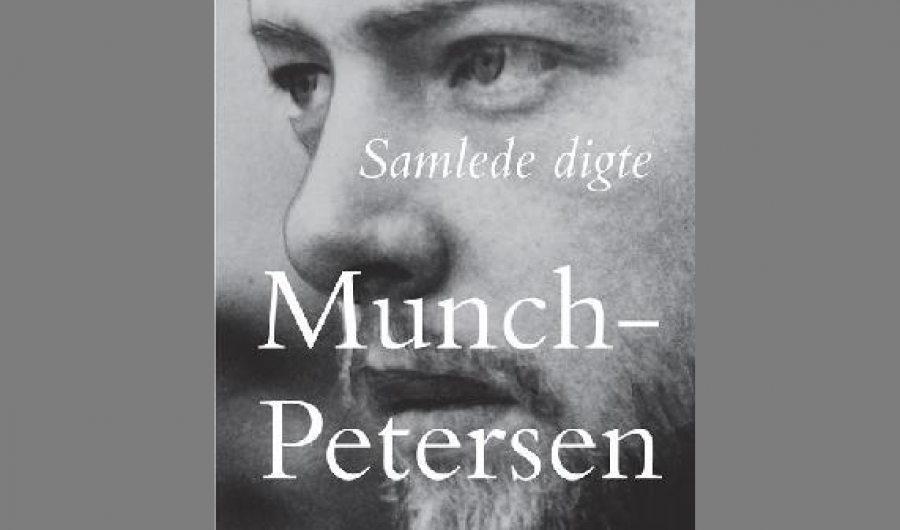 Del af forside på bogen: Samlede digte af Gustaf Munch-Petersen