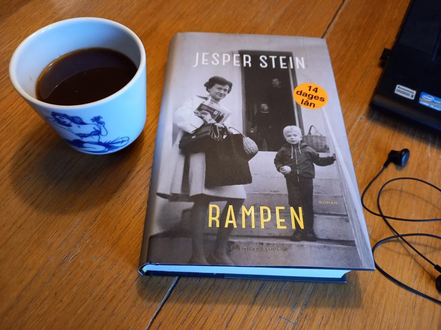 Foto af romanen Rampen af Jesper Stein